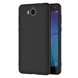 Coque silicone gel noire pour Huawei Y6 2017