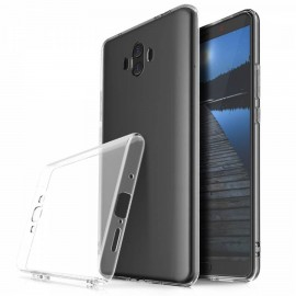 Coque silicone gel transparent pour Huawei Mate 10