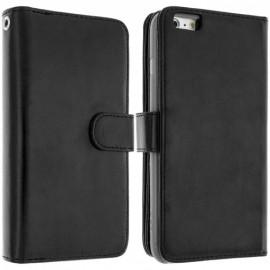 Etui portefeuille iPhone 6S Plus Noir