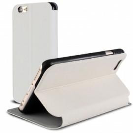 Etui portefeuille iPhone 6S Plus Blanc