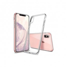 Coque silicone gel transparent pour iPhone X