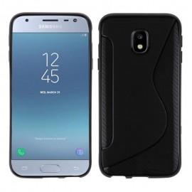 Coque silicone noire pour Samsung Galaxy J5 2017