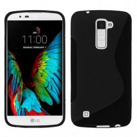 Coque silicone noire pour LG K10