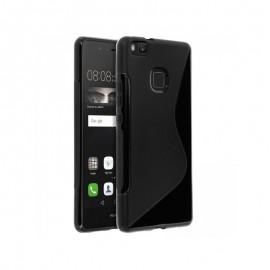 Coque silicone noire pour Huawei P9
