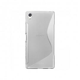 Coque silicone transparent pour Sony Xperia E5