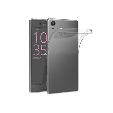 Coque silicone transparent pour Sony Xperia X