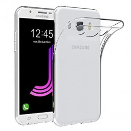 Coque silicone gel transparent pour Samsung Galaxy J7 2016