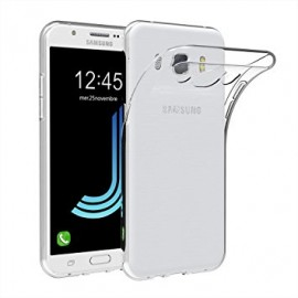 Coque silicone gel transparent pour Samsung Galaxy J5 2016