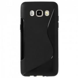 Coque silicone gel noire pour Samsung Galaxy J5 2016