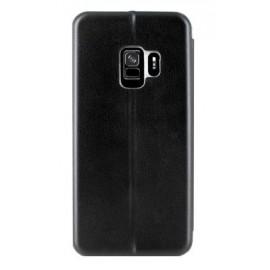 Etui portefeuille Samsung Galaxy S9 Plus Noir à Fermeture aimantée