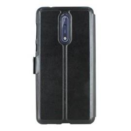 Etui portefeuille noir avec fenêtre Nokia 8