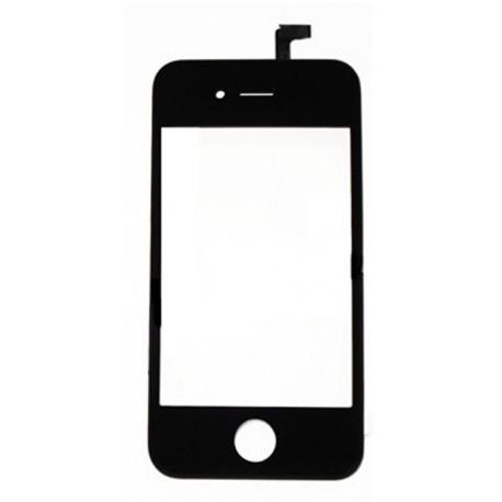 Vitre tactile noire + capteur Iphone 4