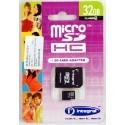 Carte Mémoire Micro SD - 32 Go