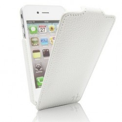 Housse blanche pour iphone 4
