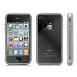 Bumper gris Apple iPhone 4