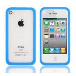 Bumper bleu Apple iPhone 4