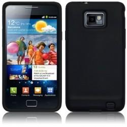 Coque Silicone noir Samsung Galaxy S2