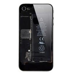 Coque arrière transparente pour Iphone 4