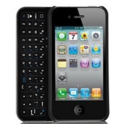 Coque avec clavier coulissant pour Iphone 4