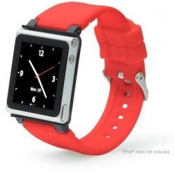 iWatchz Systéme Rouge Transformez votre iPod NANO 6 en véritable montre