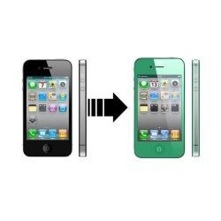 Kit de conversion écran et vitre arrière Iphone 4 vert