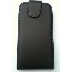 Housse pochette cuir noir pour HTC Radar