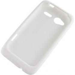 Coque/Housse silicone blanche pour HTC Radar couleur Blanc