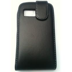 Housse noir à rabat pour Samsung Galaxy Y