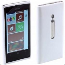 Coque silicone blanche Nokia Lumia 800