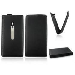Housse cuir Nokia Lumia 800 Couleur noir
