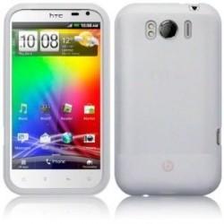 Coque blanche pour mobile HTC Sensation XL