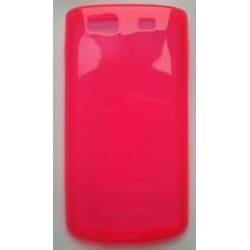Coque silicone rose transparente Samsung Wave 3