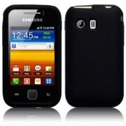 Coque silicone noir pour Samsung Galaxy Y