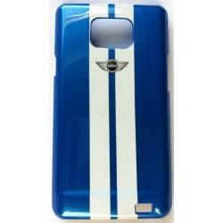 Coque Samsung Galaxy S2 Mini Racing Bleu