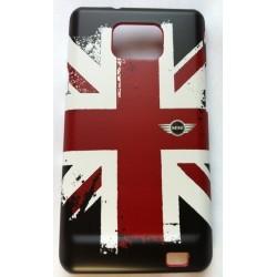 Coque officielle MINI avec deapeau Angleterre pour Samsung Galaxy S2 i9100
