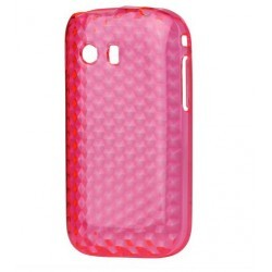 Coque silicone rose Samsung Galaxy Y S5360