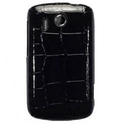 Coque style Croco pour HTC Explorer - couleur noir