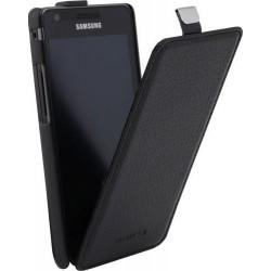 Etui à rabat d'origine Samsung Galaxy S2 i9100 - Noir
