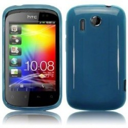 Silicone HTC Explorer - couleur bleu