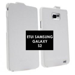 Etui d'origine blanc pour Samsung Galaxy S2 i9100