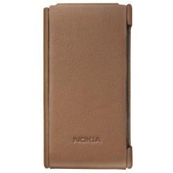 Housse marron origine pour Nokia Lumia 800