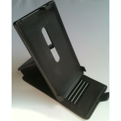 Housse support cuir pour Nokia Lumia 800