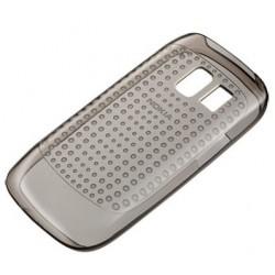 Etui silicone noir origine pour Nokia Asha 302