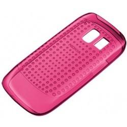 Coque en silicone rose d'origine Nokia Asha 302