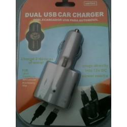 Adaptateur double USB Allume Cigare pour chargeur