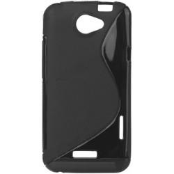 Coque silicone noire pour HTC One X