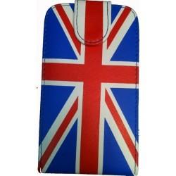 Housse/étui drapeau Angleterre Grande-Bretagne Samsung Galaxy S2 i9100