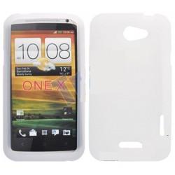 Coque silicone blanche HTC One X