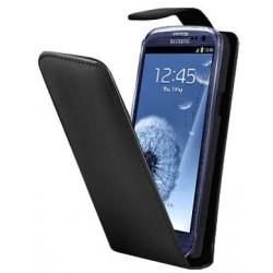 Housse Samsung Galaxy S3 - étui noir à rabat