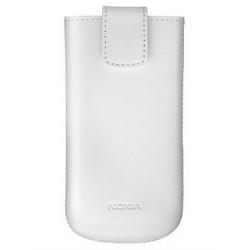 Etui vertical Nokia (pochette taille L) couleur blanc